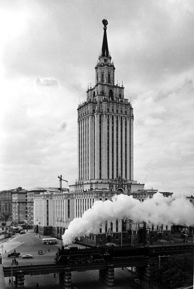 Naum Granovsky. The Leningradskaya hotel, 1968