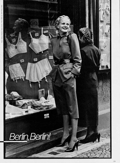 Helmut NewtonGerman VogueBerlin, 1979© Helmut Newton Estate