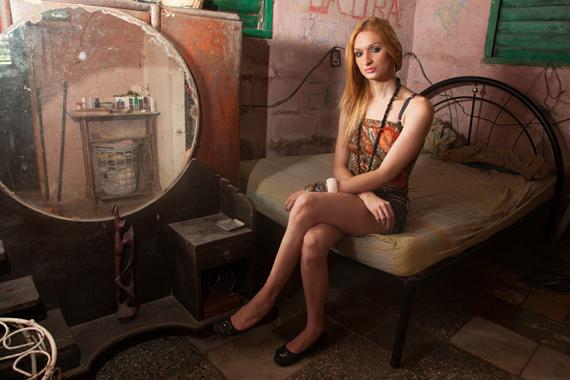Pathy Allen Mariette, Laura at home, Havana, 2013Archival inkjet, 24 × 31 in. (61 × 78.7 cm)