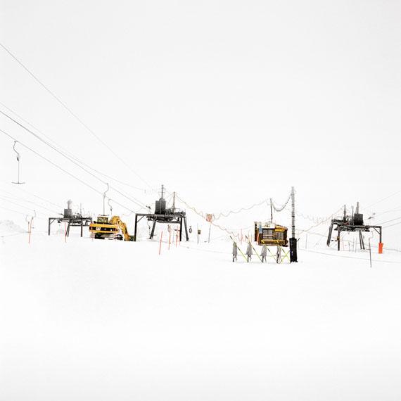 François Schaer: Jours Blancs, Zermatt, 2012, 100 x 100 cm, Edition 5 & 1 AP
