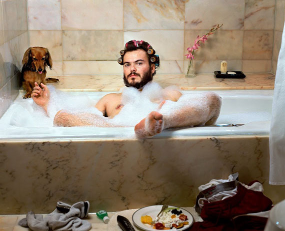 Martin Schoeller, Jack Black, 2000, Chromogenic Print, Courtesy Best Buddies