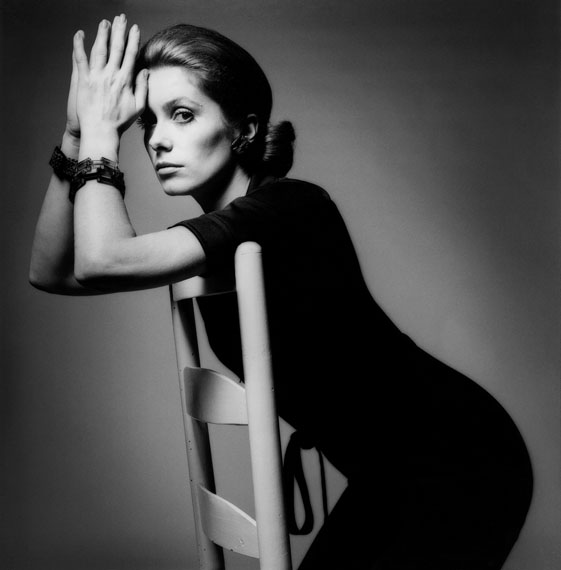 Jeanloup Sieff: Catherine Deneuve, Paris, Vogue, 1969