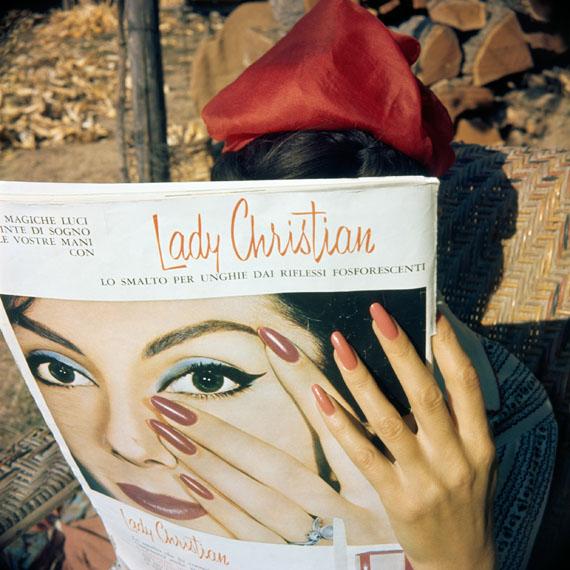 Les mains de Florette Brie le Néflier, 1961 Photographie J. H. Lartigue © Ministère de la Culture - France / AAJHL