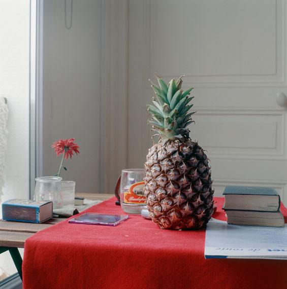 Peter Puklus: Still-life with pineappel, 2005, Paris © Peter Puklus