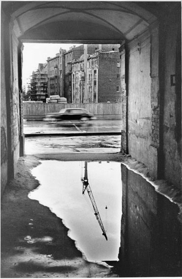Alexander Potresov. The highway is launched. From the series Demolition of Arbat, 1965