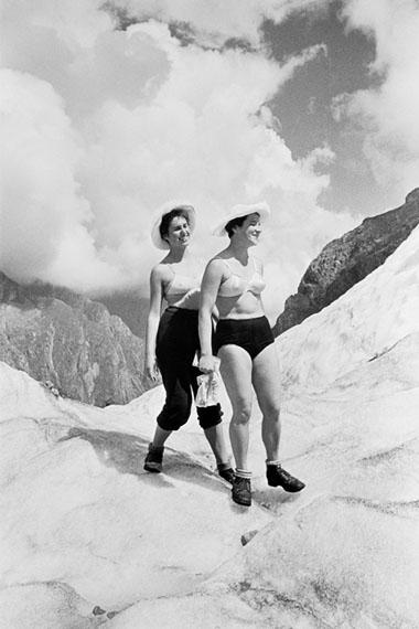 Erwin Volkov. Elbrus Mount, 1957