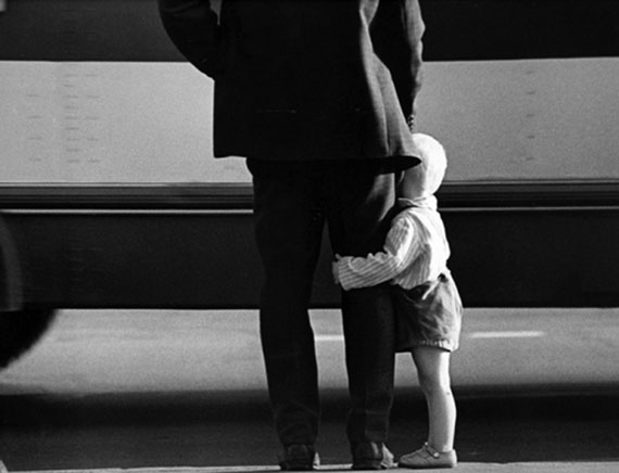 Igor Gnevashev. Father and son, 1960s