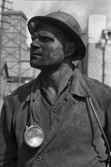 Mark Markov-Grinberg. Outstanding miner from Donbass, 1934