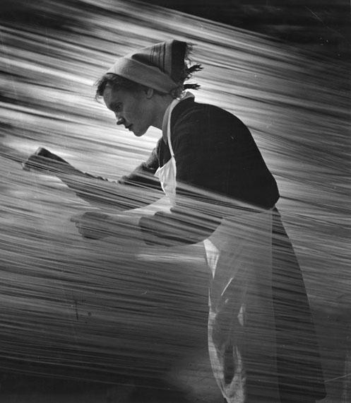 Nikolay Matorin. The rhythm of work, 1960