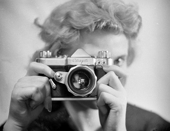 Vladimir Stepanov. From the photo story about Start camera, 1959