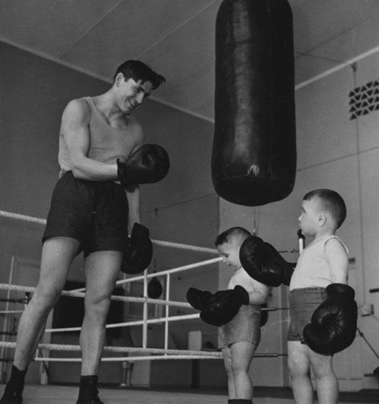 Yakov Ryumkin. Kids boxing, 1960