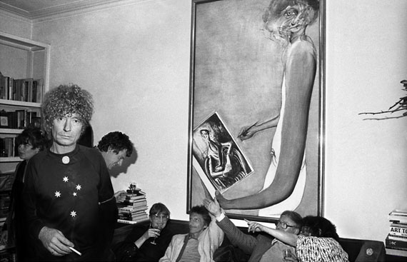 William Yang Party at the Whiteley's, Lavender Bay, 1982. Inkjet print, 32 x 50cm.