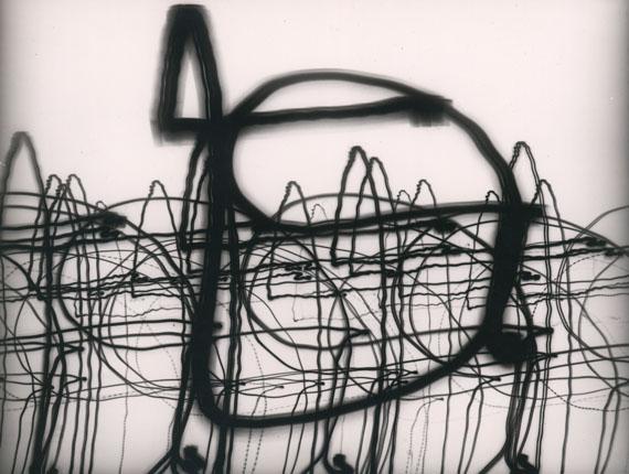 OTTO STEINERT: Luminogramm, 1952Vintage Silbergelatineabzug / Vintage silver print, 38,9 x 54,2 cm© Courtesy Galerie Johannes Faber