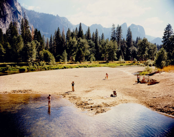 Stephen Shore: Merced River, Yosemite, National Park, California, August 13, 1979