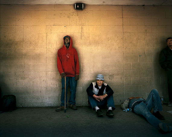 "Joakim Eskildsen: ""American Realities"", 2011, (Jachie Smith, Roy Valdez and Jon Holliday, Fresno, California)"