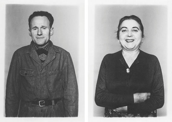 left: Jakob Menzi, *1927, Swiss, from the series «Portrait of a Swiss Company», 1972