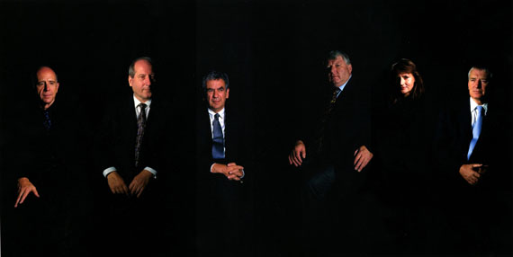 Clegg & Guttmann: Group Portrait of Bundesministers, 2000