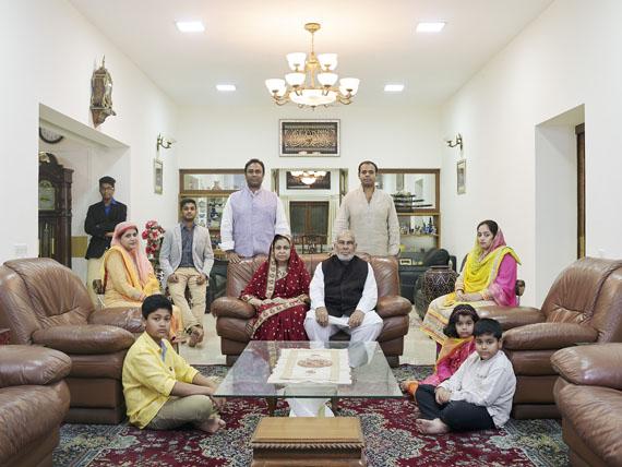 Nora Bibel, Suhail, Bangalore, Indien, 2014. Aus der Serie Family Comes First