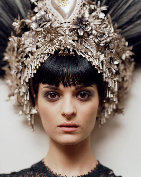 Alec Soth: Natalia. Jean-Paul Gaultier headpiece & dress. Paris, 2007 © Alec Soth / Magnum Photos