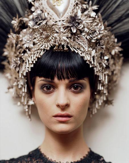 Alec Soth: Natalia. Jean-Paul Gaultier headpiece & dress. Paris, 2007 © Alec Soth / Magnum Photos