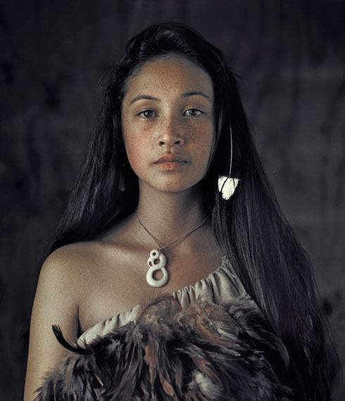 Maori, Rauwhiri Winitana Paki, Taupo Village, North Island