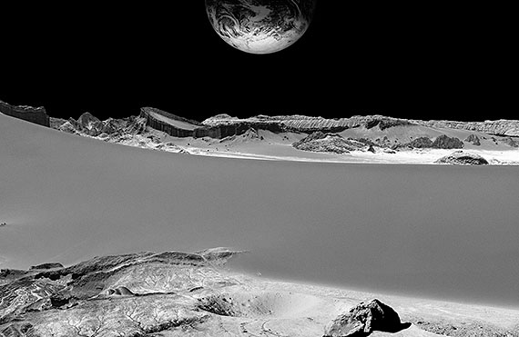 moon mining, 2015, 132 x 202 cm, Ed. 6 © michael najjar