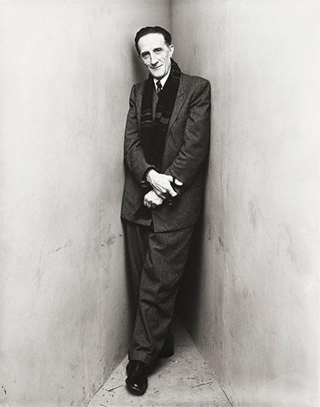 Irving PennMarcel Duchamp, New York, 1948 Gelatin silver print $15,000-20,000
