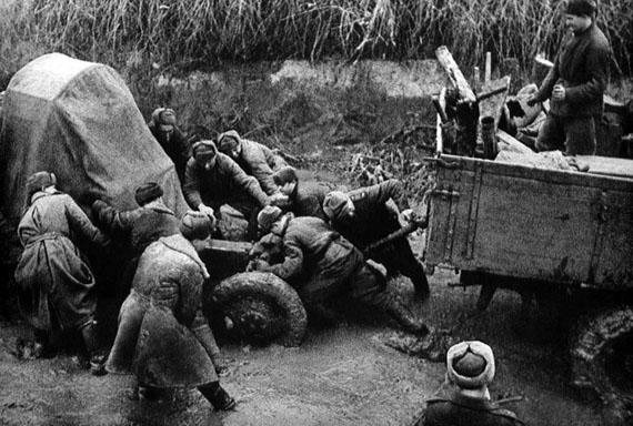 Georgi Lipskerov.Battlefront road,  1944