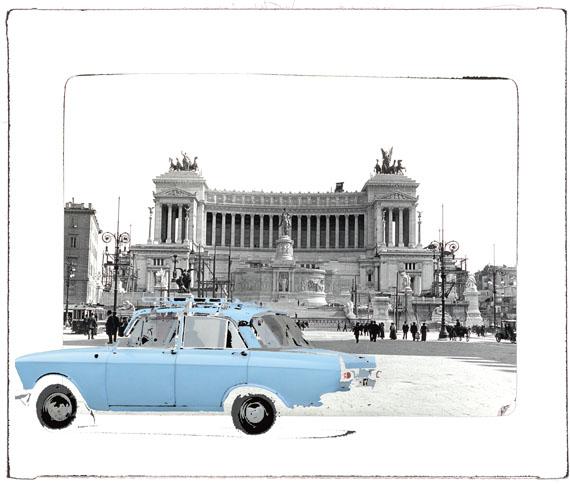 Roma Kaunas II, 2014, Ultrachrome pigment inkjet print © f&d cartier