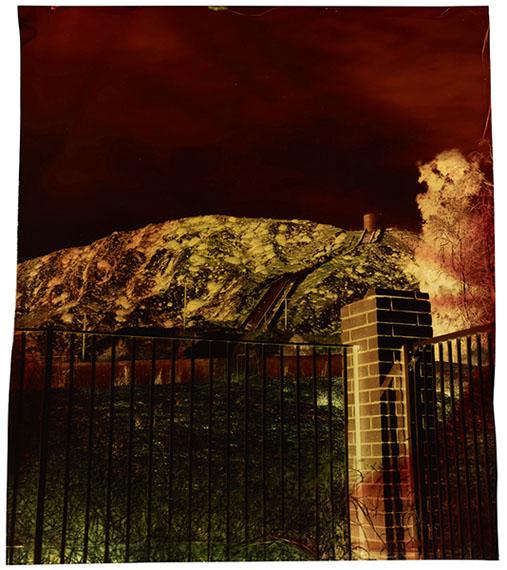 John Chiara: Foothill at Bilboa, (Variation B), 2012, Los Angeles seriesImage on Endura transparency, 84.5 x 74.9 cm (33.25 x 29.5 inches), Unique photograph