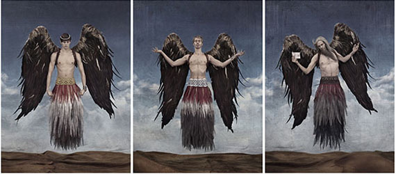 Triptych The Messenger © Gérard Rancinan