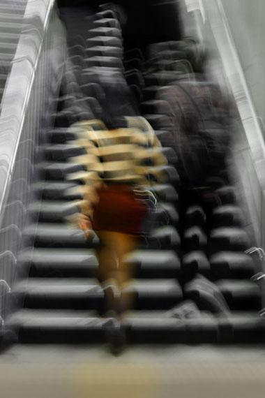 Tilmann Krieg: Staircase, Seoul 2013, 85 x 135 cm