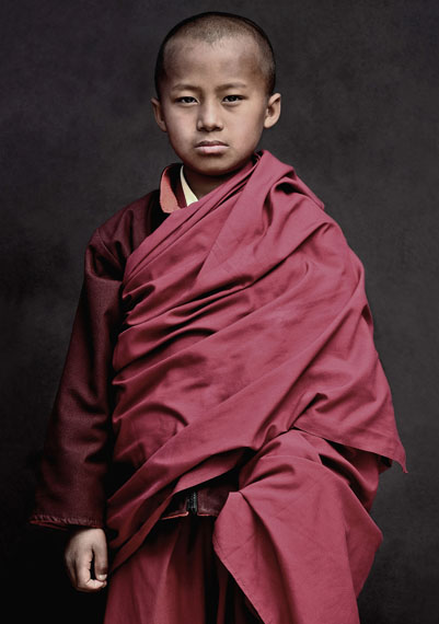 Portrait of a Monk, India, 2012, 38 x 50 cm, Ltd. Ed. 10