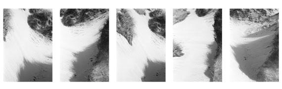 Silke GrossmannNymindegab, 20115 Fotografien, Silbergelatineprints / 5 photographs, gelatin silver prints, 46,5 x 159 cm© Silke Grossmann