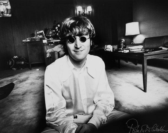 Robert Whitaker (1939-2011)John Lennon, Tokyo, 1966Lambda print, printed 200229.5 x 39.6cm (11 5/8 x 15 5/8in)Estimate £800–1200