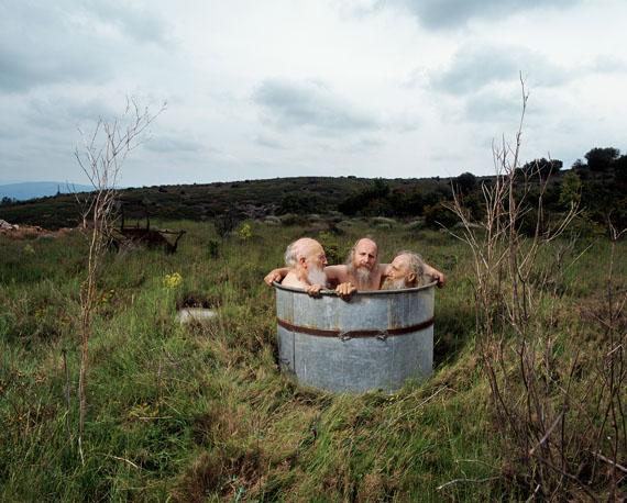 Hanne van der Woude: Brothers in tub, 2009-2015C-print from slide, 44 x 55 cm, Ed. 8/10© Hanne van der Woude / Van der Mieden Gallery