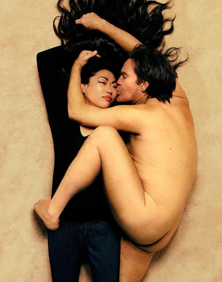 Annie Leibovitz, John Lennon and Yoko Ono (1980), 2014  © Sandro Miller