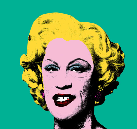 Andy Warhol,  Green Marilyn (1962), 2014 © Sandro Miller