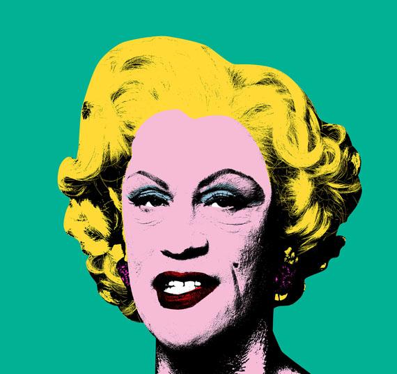 Andy Warhol,  Green Marilyn (1962), 2014 © Sandro Miller