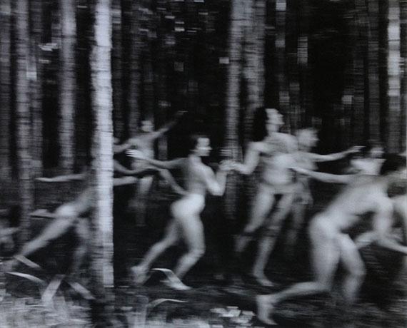 Annie LeibovitzWhite Oak Dance Project, White Oak Plantation, Florida, 1990 Gelatin silver print 17.75 х 22 in. Est. 8,000–10,000 USD