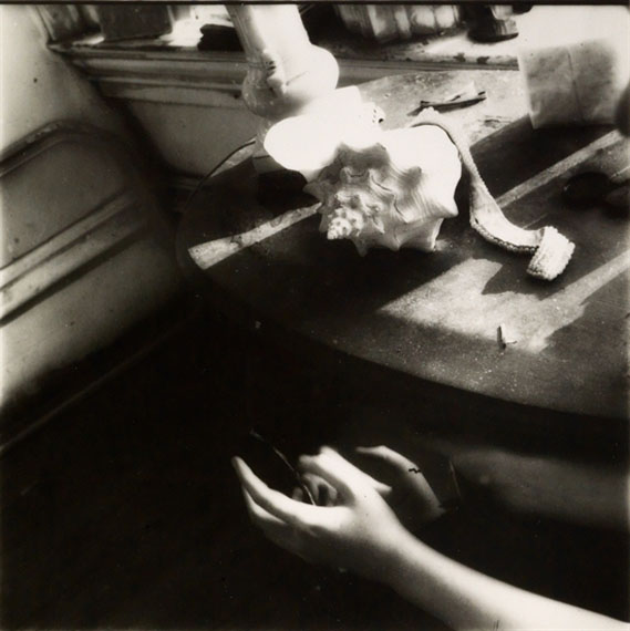 Francesca WoodmanBut Lately I Find a Sliver of a Mirror is Simply to Slice an Eyelid, 1979–1980Gelatin silver printEdition of 405.5 х 5.5 in.Est. 3,500–4,500 USD