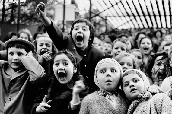 Lot 121ALFRED EISENSTAEDT (1898–1995)Children at a Puppet Theatre, Paris 1963Gelatin silver print, printed in the 1970s, signed and stamped€ 7,000 / € 12,000 – 14,000