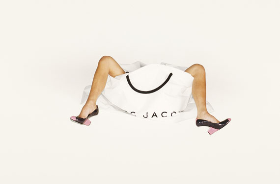 Juergen TellerVictoria Beckham.Legs, bag and shoes.Marc Jacobs Campaign Spring Summer 2008, LA 2007© Juergen Teller