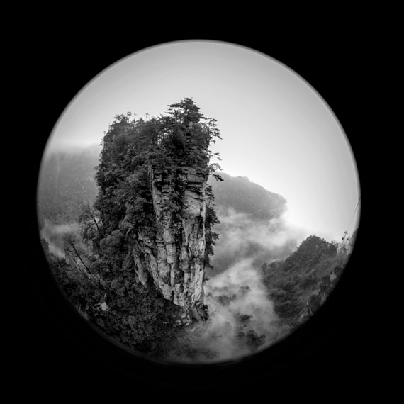 Lone Pillar, Tianzi Mountain, China, 2013© Geir Jordahl
