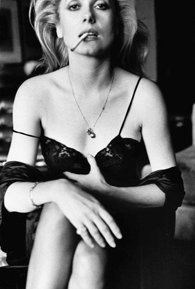 Catherine Deneuve, Esquire, Paris 1976© Helmut Newton Estate / Maconochie Photography