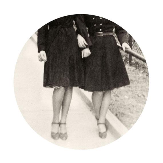 "Intertwined, 2015. Archival inkjet print. 6"" image on 10"" paper© Kris Sanford, courtesy elizabeth houston gallery"
