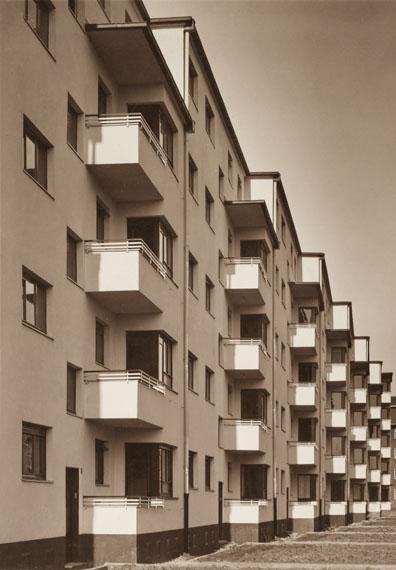 Werner Mantz: Weiße Stadt, Buchforst (ehemals Kalkerfeld), Köln 1930© VG Bild-Kunst, Bonn 2016