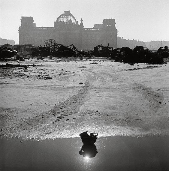 The Reichstag building. Berlin, Germany, 1946© Werner Bischof / Magnum Photos