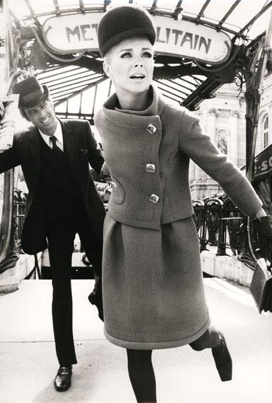 F.C. Gundlach: Gitta und Ralph in Lanvin, Paris 1966
