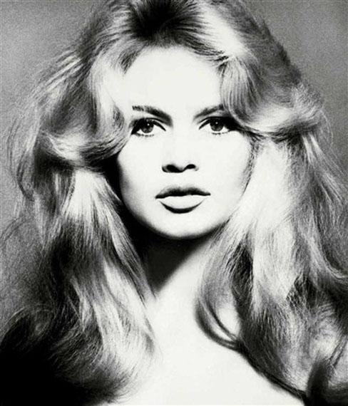 Richard Avedon Brigitte Bardot, Hair by Alexandre, Paris Studio 1959Gelatin silver print24 x 20 in.Edition 14 of 35